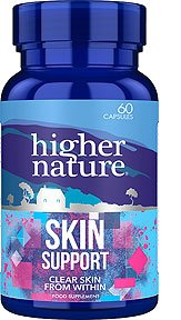 Skin Support nahale Higher Nature, 60 tbl