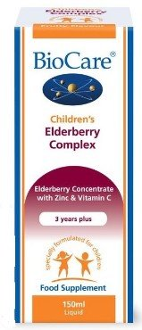 Children's Elderberry Complex BioCare, 150 ml