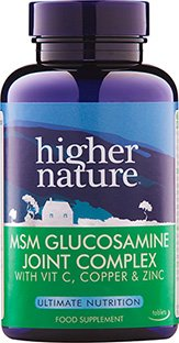 MSM Glucosamine Joint Complex Higher Nature, 90 tabs