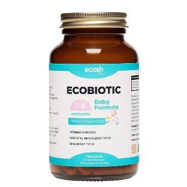 Ecobiotic Baby Formula Ecosh, 90 kapslit