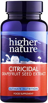 Citricidal greibiseemneekstrakt Higher Nature, 100 tbl