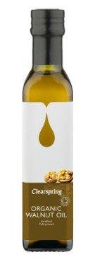 Külmpressitud kreekapähkliõli Clearspring, 250ml