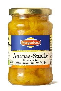 Ananassitükid omas mahlas Morgenland 685g (net 405g)