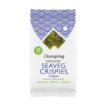 Röstitud vetikakrõpsud Clearspring, 5g
