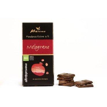 Tume šokolaad granaatõunaga Altromercato, 100g