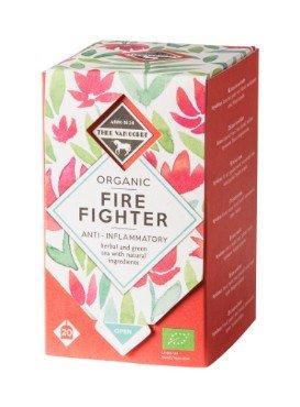 """Soojendav roheline tee ürtidega """"Fire Fighter"""" Thee Van Oordt, 20×1,5g"""