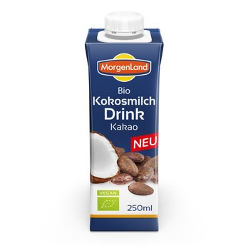Kookosjook kakao Morgenland, 250ml