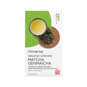 Jaapani tee matcha-genmaicha Clearspring, 20tk (36g)