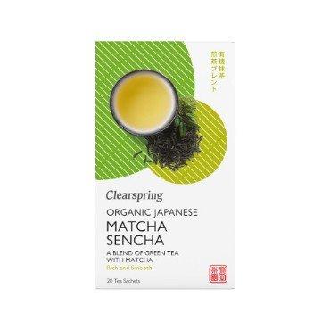 Jaapani tee matcha-sencha Clearspring, 20tk (36g)