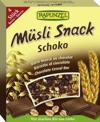 Müslisnäkk šokolaadi Rapunzel, 4x26g