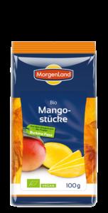Kuivatatud mango tükid Morgenland, 100g