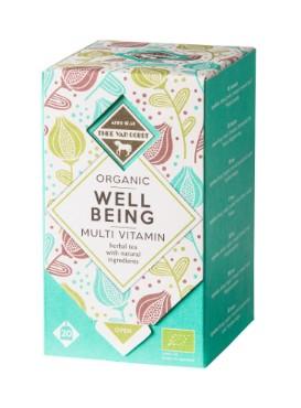 Multi-vitamiini taimetee ''Well Being'' Thee Van Oordt, 20x1,5g