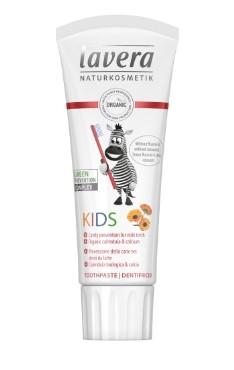 Laste hambapasta fluoriidi vaba Lavera, 75 ml