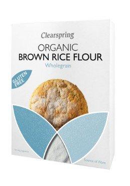 Pruuni riisi jahu Clearspring, 375g