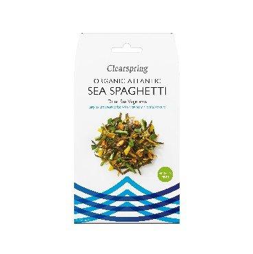 Vetikad Atlandi mere spagetid Clearspring, 25g