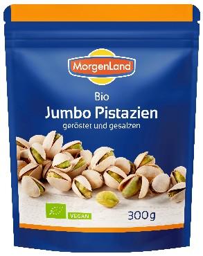 Soolatud ja röstitud Jumbo pistaatsiapähklid Morgenland, 300g