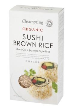 Sushi täisterariis Clearspring, 500g