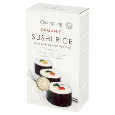 Sushi riis Clearspring, 500g