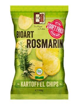 Kartulikrõpsud rosmariiniga BioArt, 100g