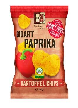 Kartulikrõpsud paprikaga BioArt, 100g