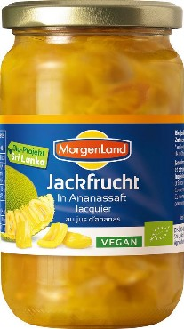 Jackfruit ananassimahlas Morgenland, 350g (net 200g)