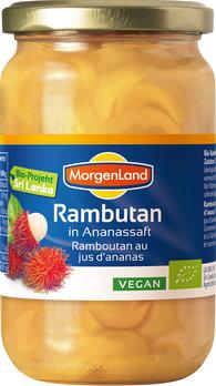 Rambutan ananassimahlas Morgenland, 350g (net 200g)