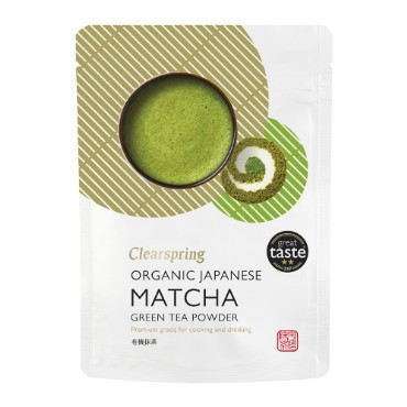 Matcha rohelise tee pulber Clearspring, 40g